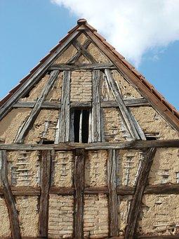 Barn, Old, St Leon, Wooden, Rustic, Farm, Rural