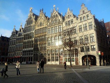 Antwerpen, Belgian, Belgium, Antwerp, Architecture