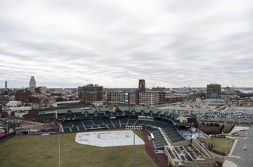 Baseball Field, Camden, New Jersey, Stadium