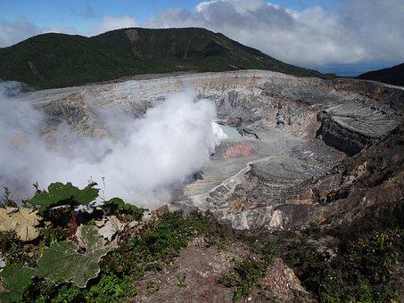 Volcano Poás, Costa Rica, Central America