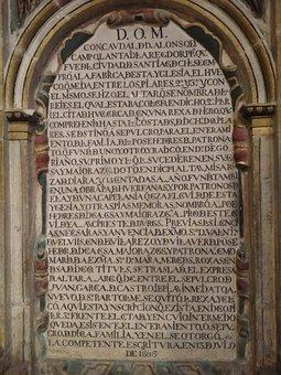 Latin, Church, Spain, Burgos, Cathedral
