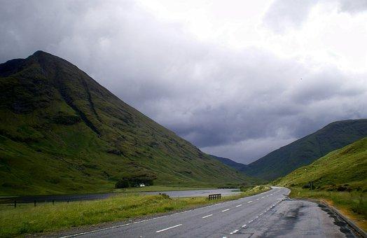 Scotland, Highlands, Lochaber, Glen, Coe, Glen Coe