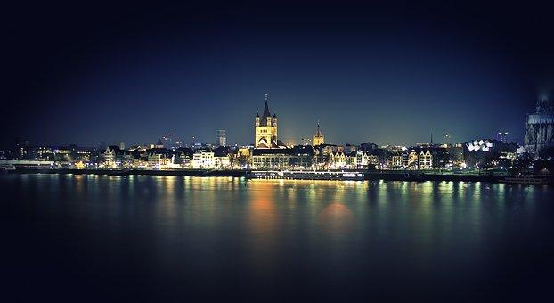 Cologne, Germany, Landmark, City, Building