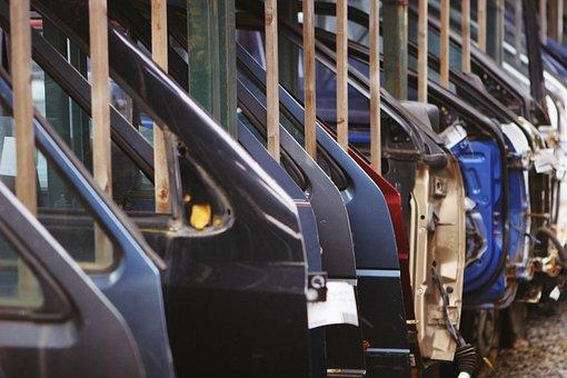 Car Doors, Industry, Automobiles, Factory, Store