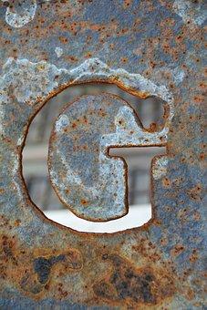 Letter G, G, Alphabet, Font, Letter, Type, Symbol, Sign