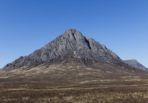 Glencoe, Scotland, Highlands, Mountain, Scenery