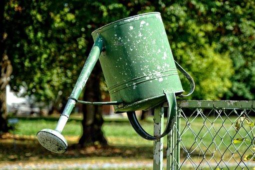 Watering Can, Garden, Casting, Gardening, Irrigation