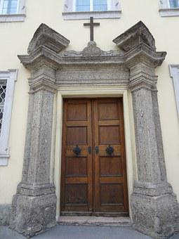 Door, Old, Arches, Entrance, Arch, Architecture, Wall