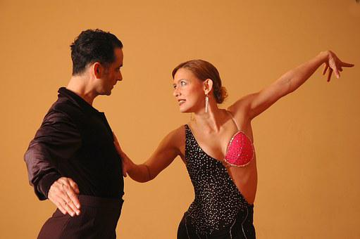 Ballroom, Latin, Dance, Dancing, Orange Dance