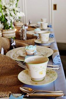 Tea Cup, Tea, Tea Party, Traditional, Place Setting