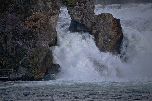 Rhine Falls, Neuhausen Am Rheinfall, Schaffhausen