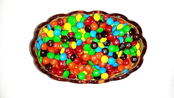 Bold, Chocolate, Sweet, Food, White, Bright, Vivid