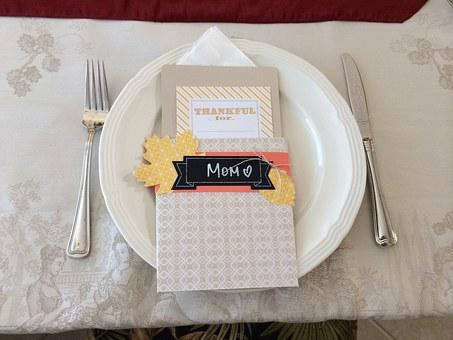 Place Setting, Thanksgiving, Setting, Place, Food