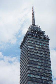 Mexico, Tower, Latin American, Building, Tourism