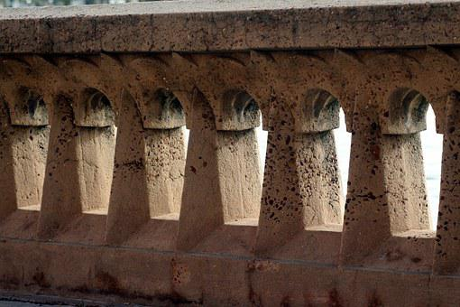 Wall, Arches, Architecture, Stone, Outdoor, Historic