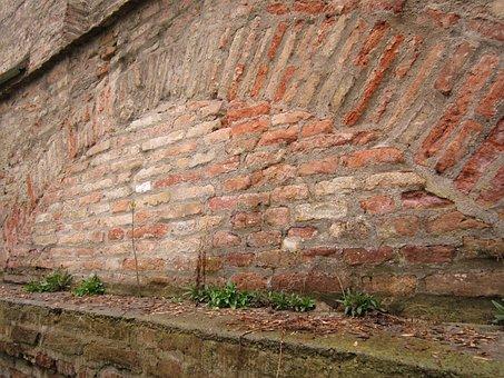 Wall, City Wall, Close, Stone Wall, Brick Wall