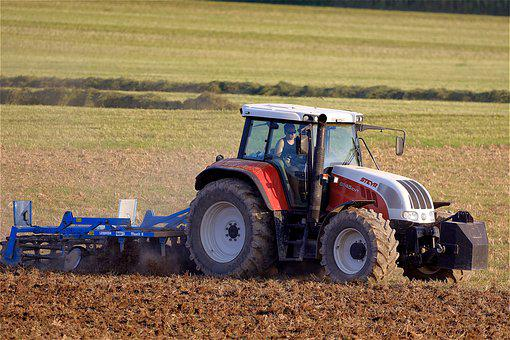 Tractor, Agriculture, Agricultural Machinery