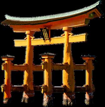 Torii, Traditional Japanese Gate, Shinto Shrine, Japan
