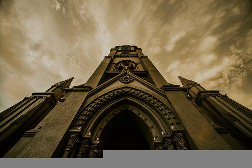 Vintage, Cathedral, Photography