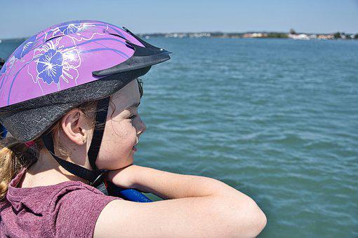 Child, Adventure, Journey, Outdoors, Sea, View, Excited