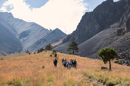 Volcano, Mountain, Path, Hiking, National Park