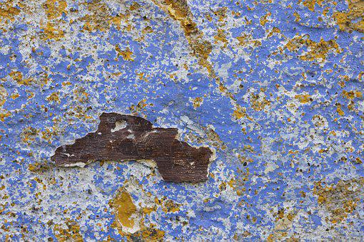 Wall, Old, Pattern, Macro, Background, Painted