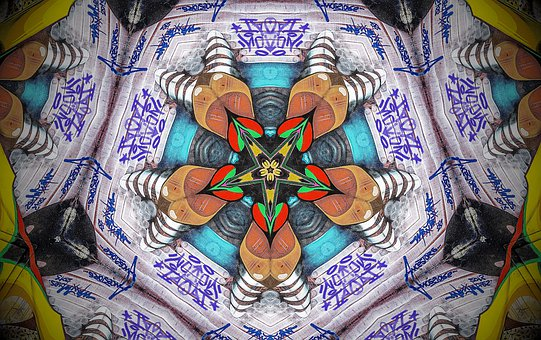 Mandala, Ornament, Background, Wallpaper, Star, Pattern