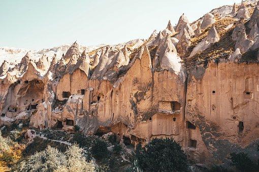 Nature, Travel, Exploration, Outdoors, Cappadocia, Cave