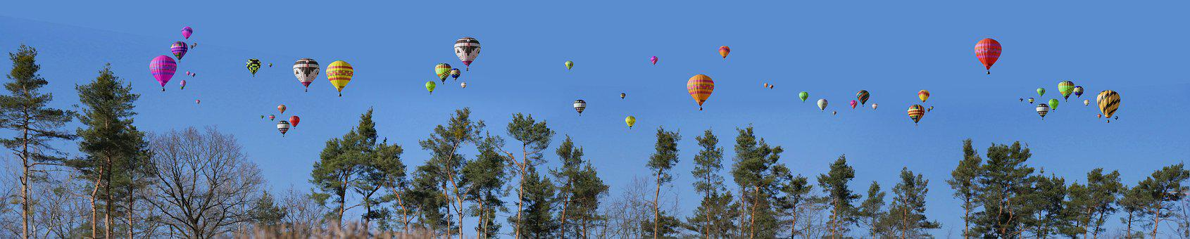 Hot Air Balloons, Travel, Adventure, Nature, Outdoors