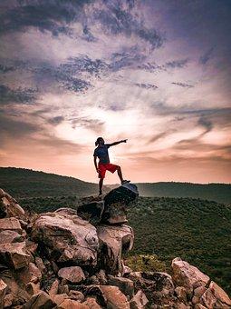 Hike, Adventure, Travel, Man, Outdoors, Exploration