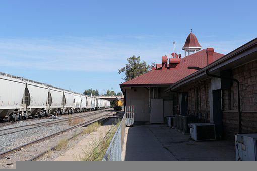 Colorado Springs Depot, Train Station, Railroad