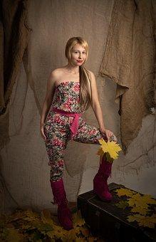 Woman, Fashion, Beauty, Female, Girl, Portrait, Autumn