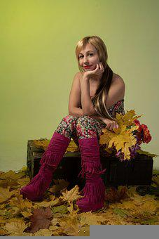 Woman, Beauty, Model, Pose, Fashion, Autumn, Female
