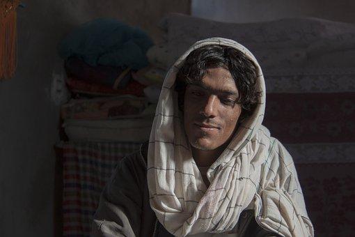 Baloch, Iranian, Man, Portrait