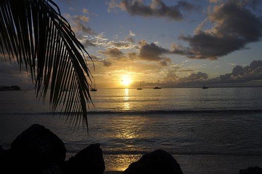 Beach, Sunset, Sky, Sea, Seascape, Ocean, Dusk, Nature
