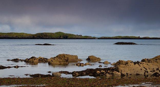 Seascape, Ireland, Coastline, Wild Atlantic Way