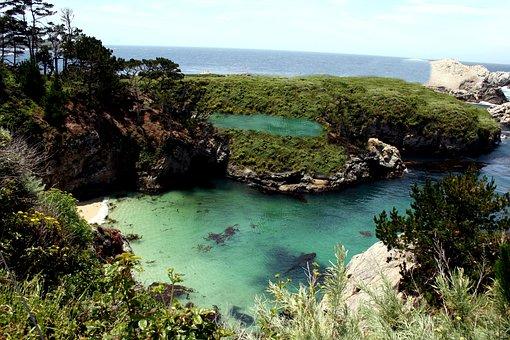 Lagoon, Sea, Nature, Ocean, Seascape, Island, Water