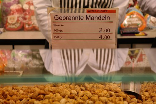 Confectionery, Burnt Almonds, Year Market, Fair