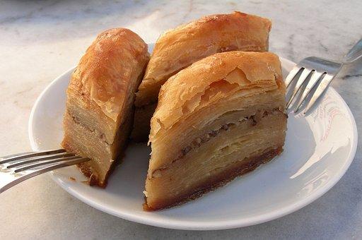 Dessert, Baklava, Puff Pastry, Filoteig, Turkish