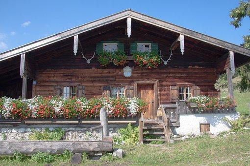 Alm, Flowers, Flower Boxes, Culture, Upper Bavaria