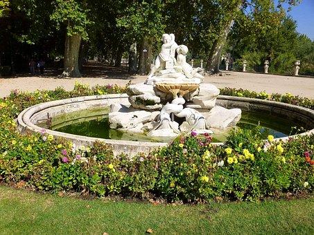 Royal Palace, Gardens, Park, Fuente Boticaria, Fountain