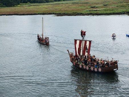 Viking, Landing, Catoira, Galicia