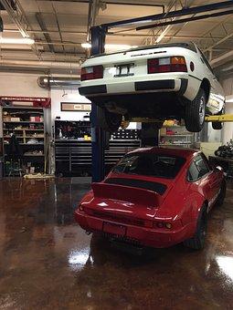 Porsche, Car Shop, Garage, Cool Cars