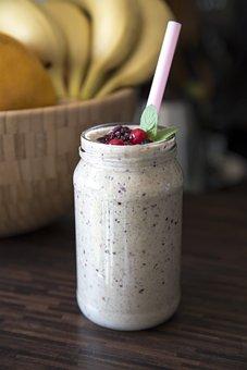 Smoothie, Fruit, Blend, Glass, Drink, Food, Juice