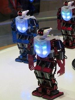 Robot, Robot Dance, High-tech Science, Science