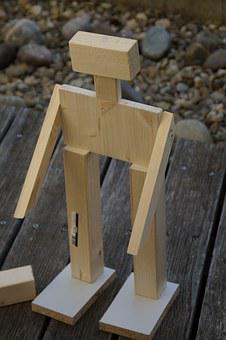 Robot, Males, Wood Work, Hobby, Homemade, Built