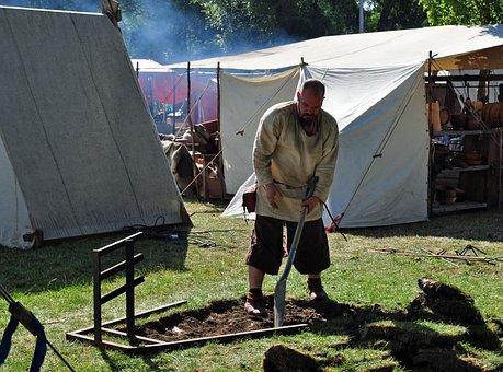 Vikings, Stockholm, Sweden Vikings, Man, Historical