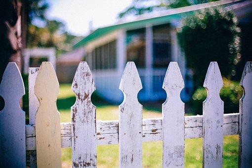 Picket Fences, Fence, Fencing, Neighbor, Neighbour