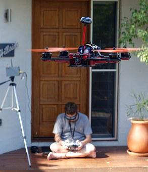 Drone, Quadcopter, Control, Stability, Flight, Flying