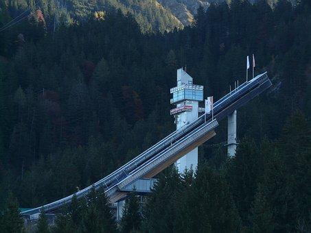 Ski Jump, Sports Center, Ski Jumping Sport, Bakken